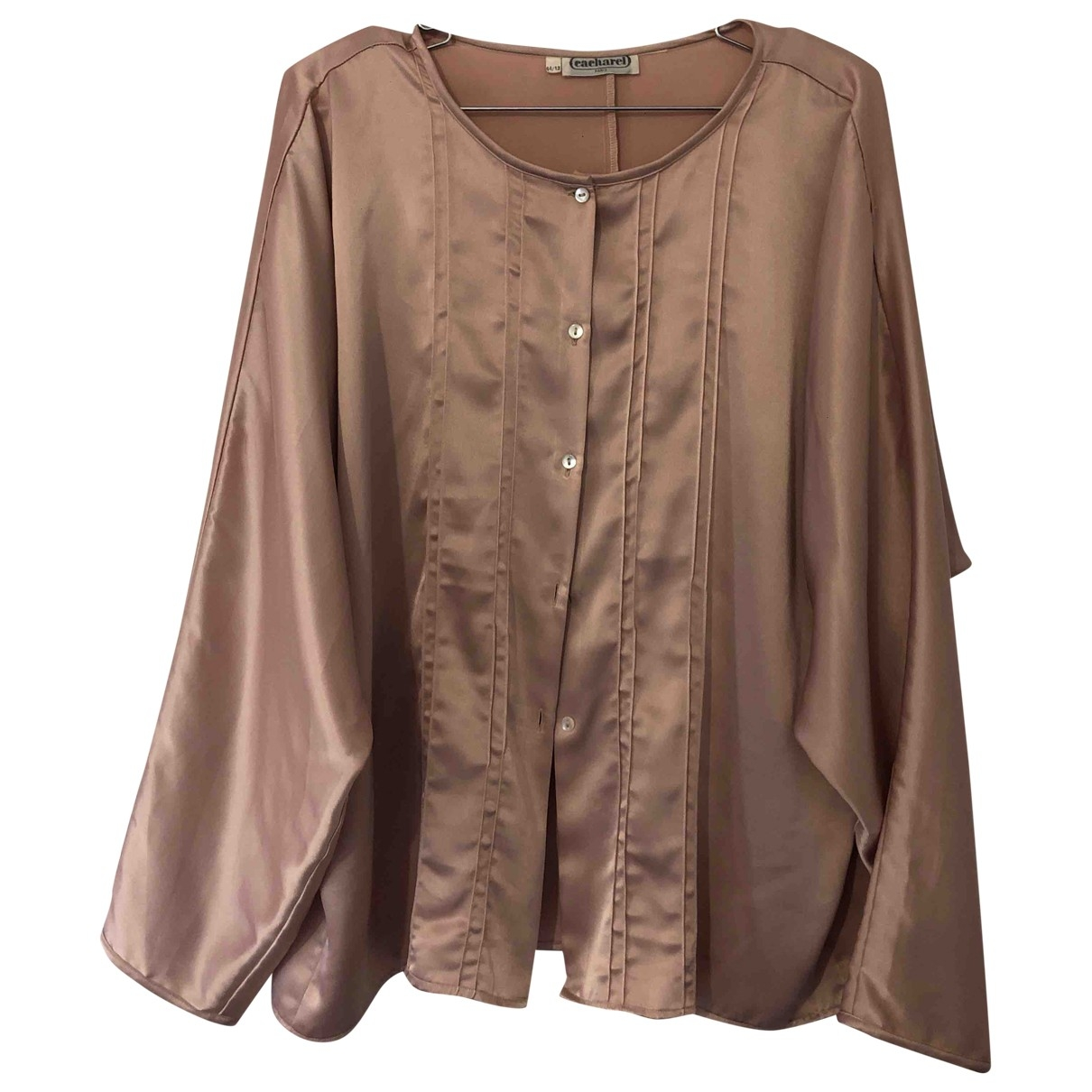 Cacharel \N Pink Silk  top for Women 44 IT