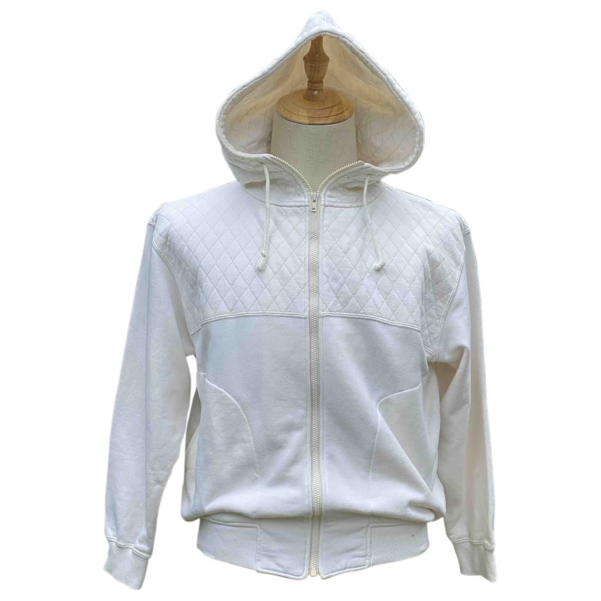 Issey Miyake \N White Cotton Knitwear & Sweatshirts for Men M International