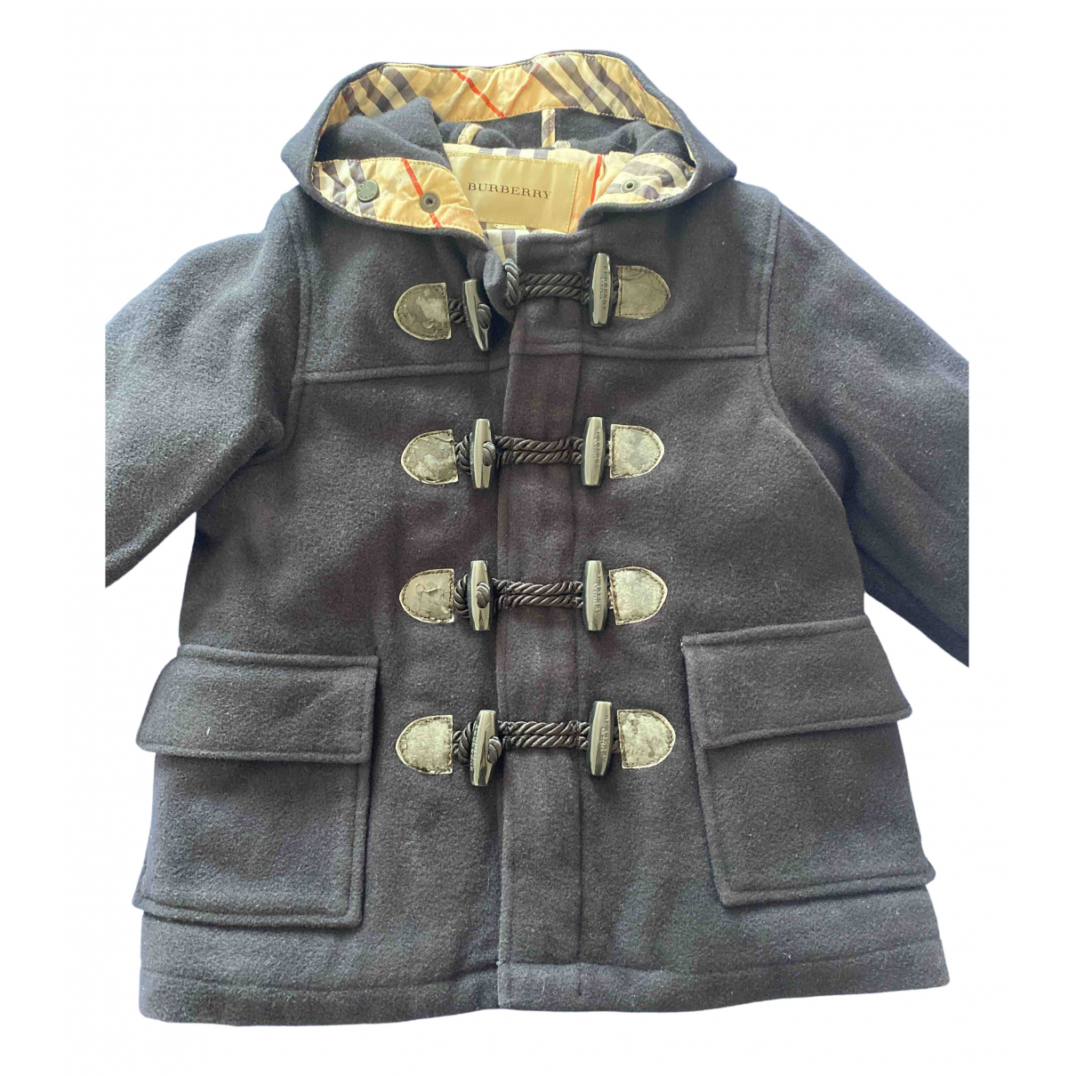 Burberry N Blue Wool jacket & coat for Kids 2 years - up to 86cm FR