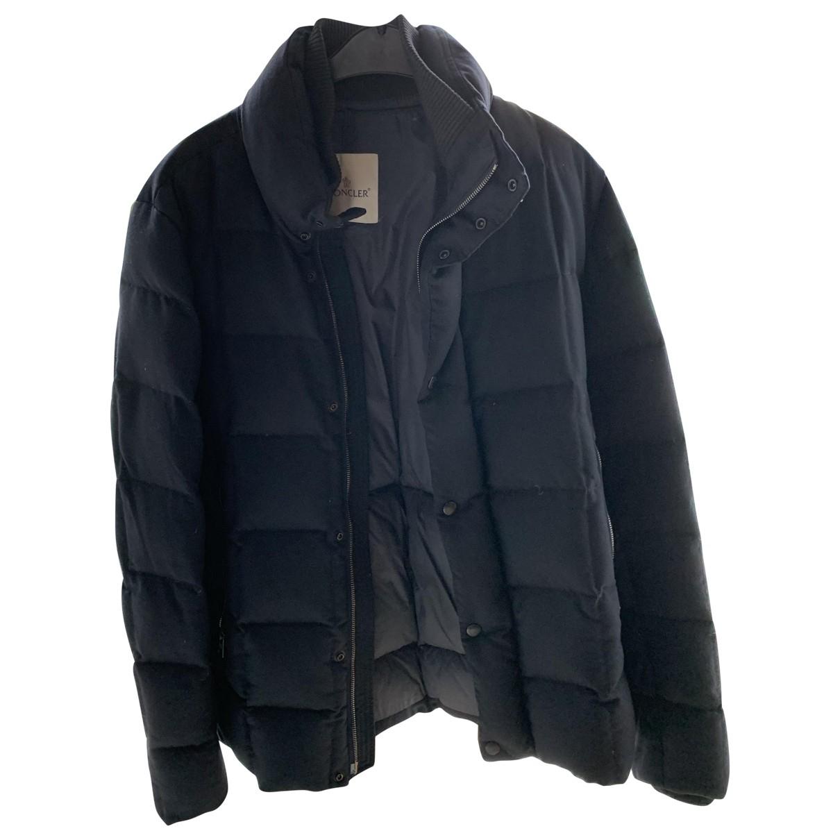Moncler Classic Blue Cotton jacket  for Men L International