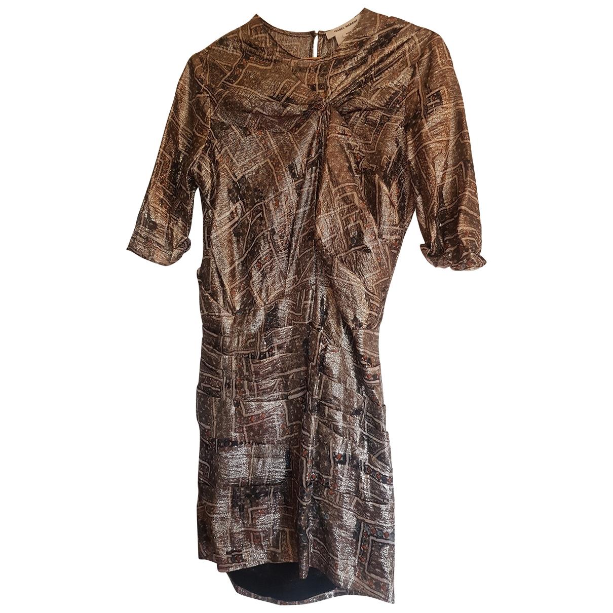 Isabel Marant \N Multicolour Silk dress for Women 36 FR