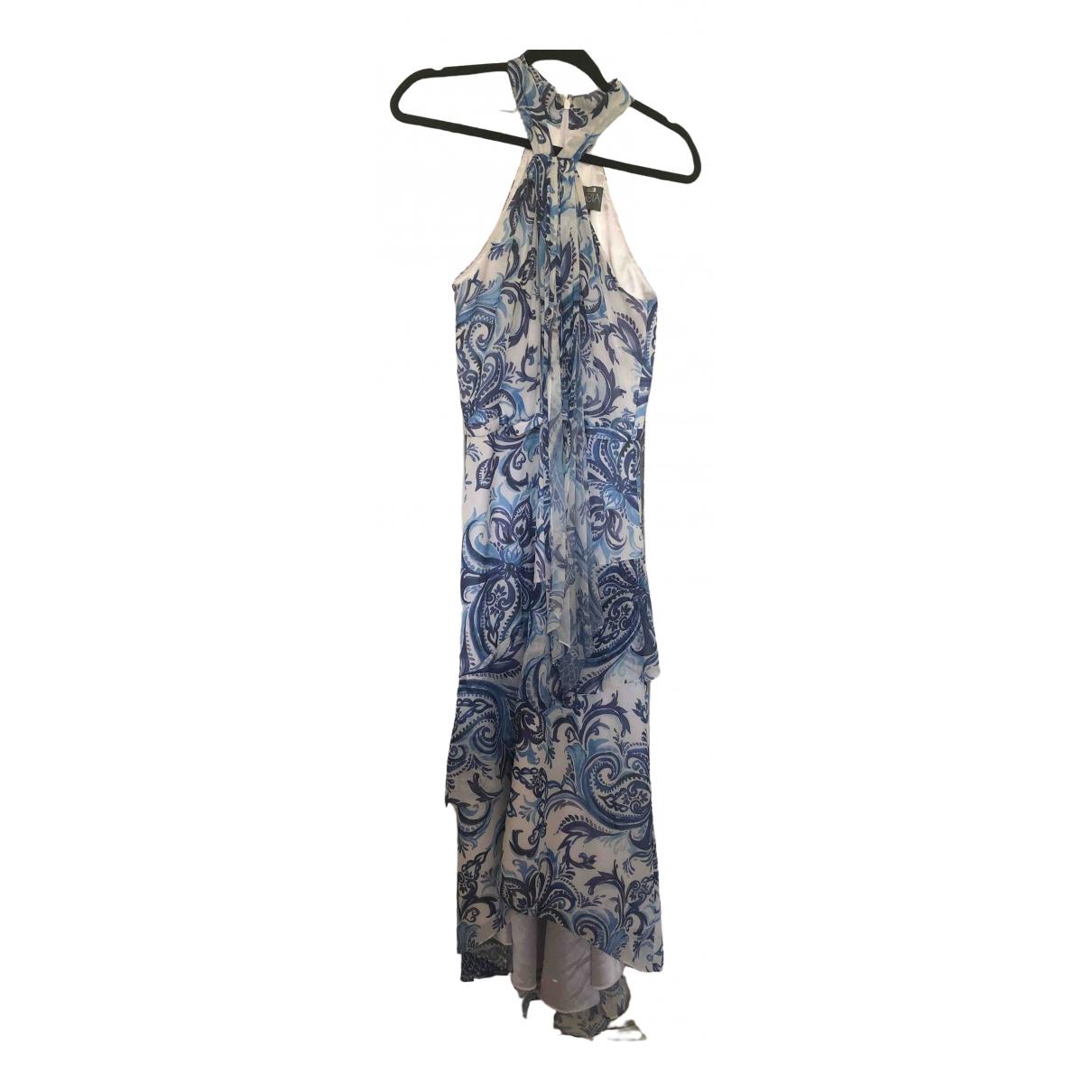Theia \N Kleid in  Blau Polyester