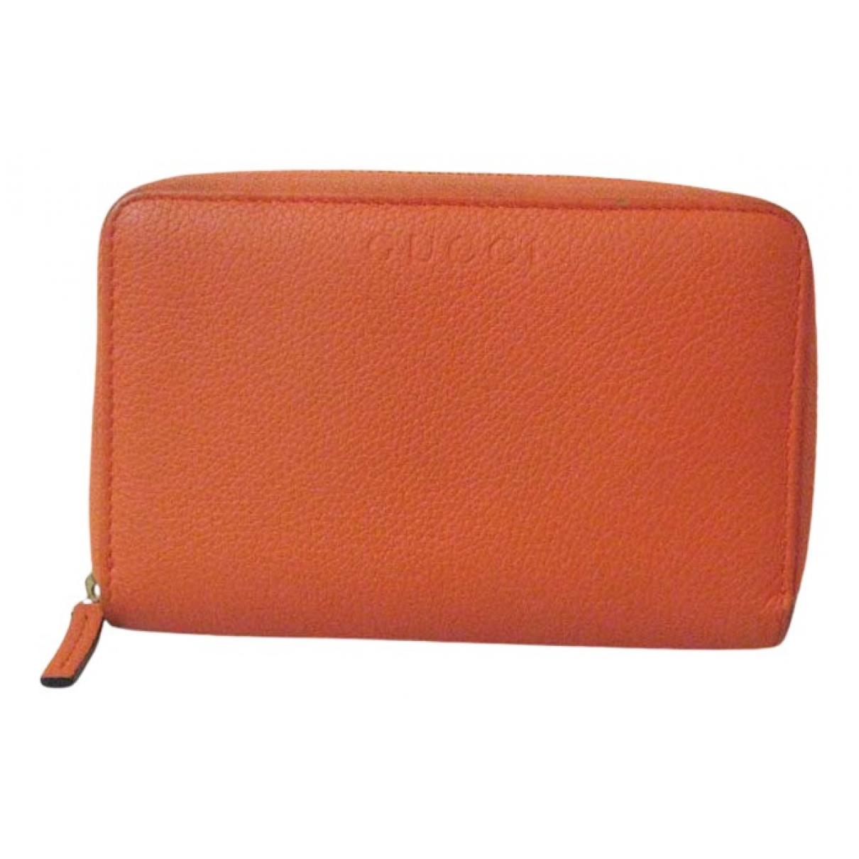 Gucci - Portefeuille   pour femme en autre - orange