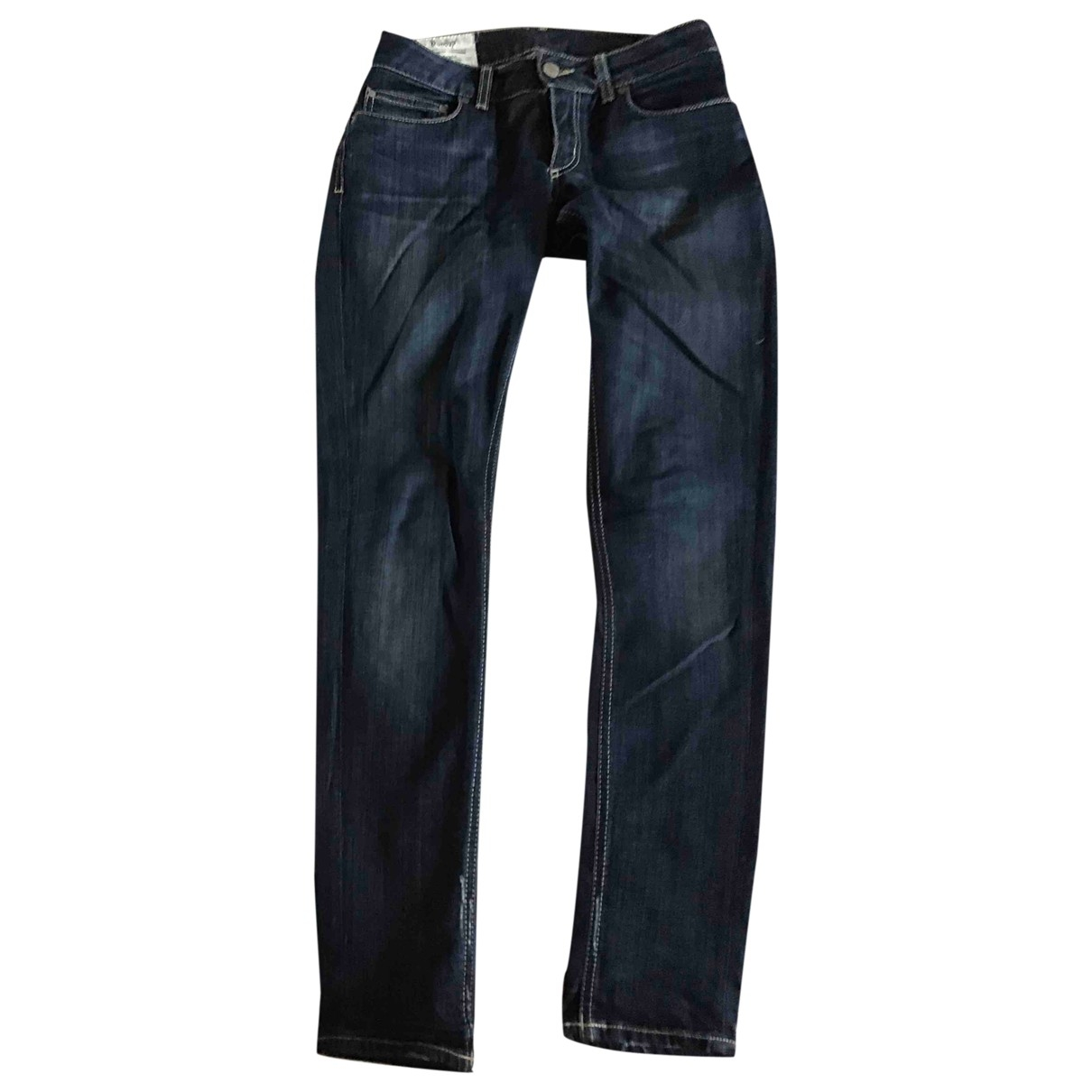 Dondup \N Blue Denim - Jeans Jeans for Women 26 US