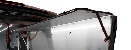 CargoGlide WPC562 WallSlide Wall Shelving Canopy Option for WSS562