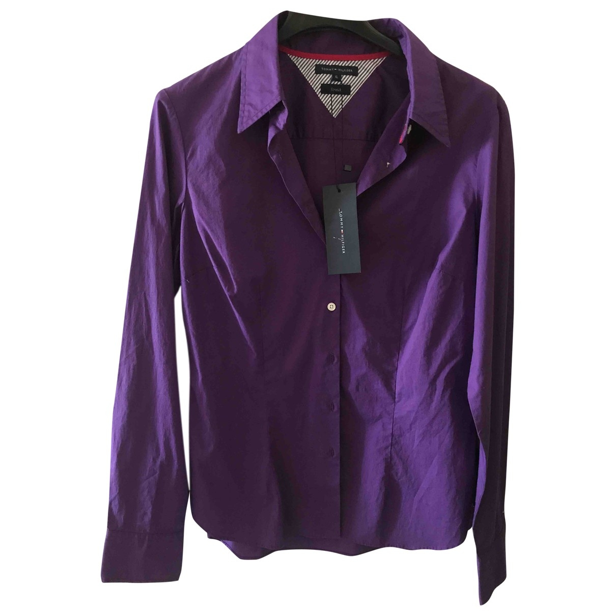 Tommy Hilfiger \N Purple Cotton  top for Women 6 US