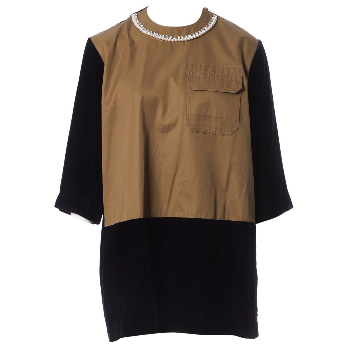 Sacai \N Navy dress for Women 2 0-5