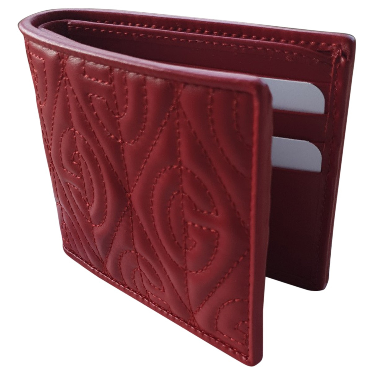 Gucci N Red Leather Small bag, wallet & cases for Men N