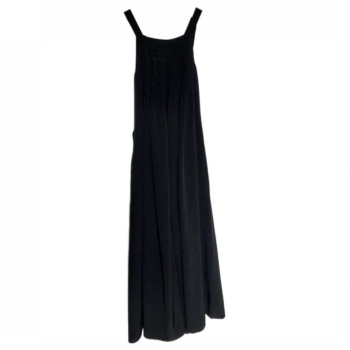 Tibi \N Kleid in  Schwarz Seide