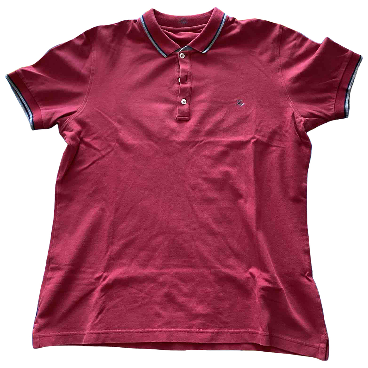 Fay \N Poloshirts in  Rot Baumwolle