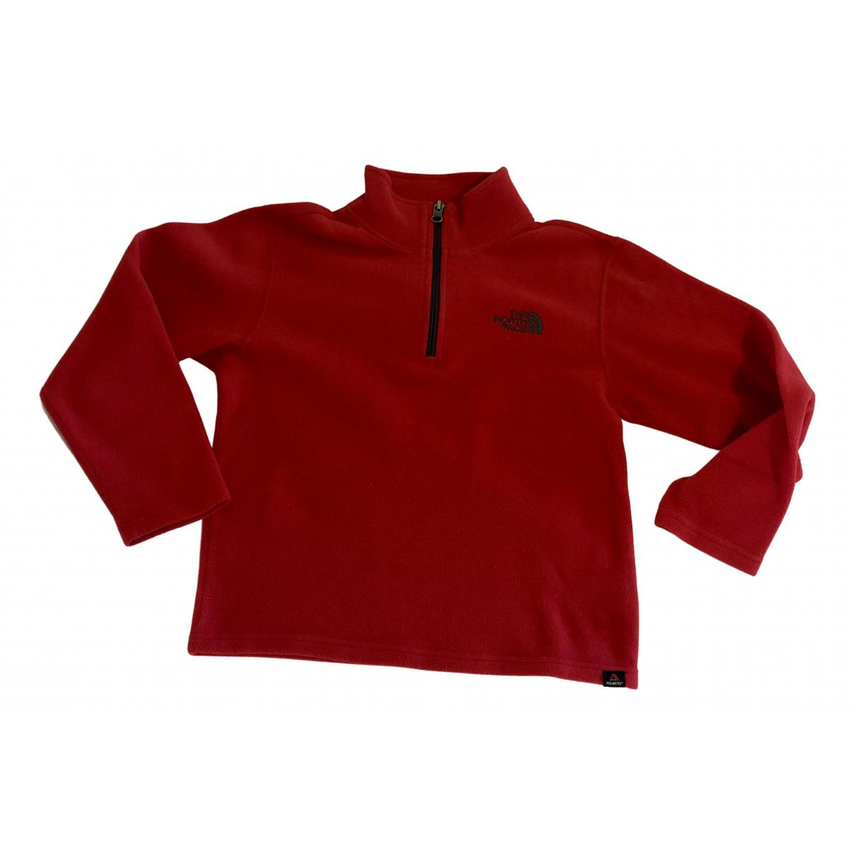 The North Face - Pull   pour enfant - rouge