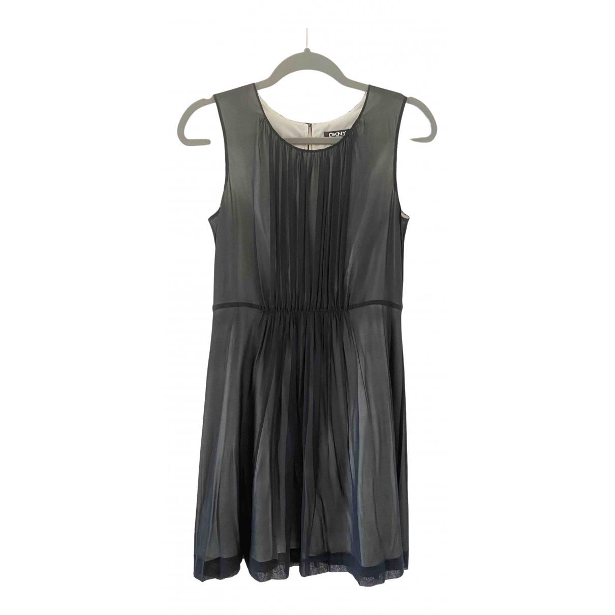 Vestido de Seda Dkny