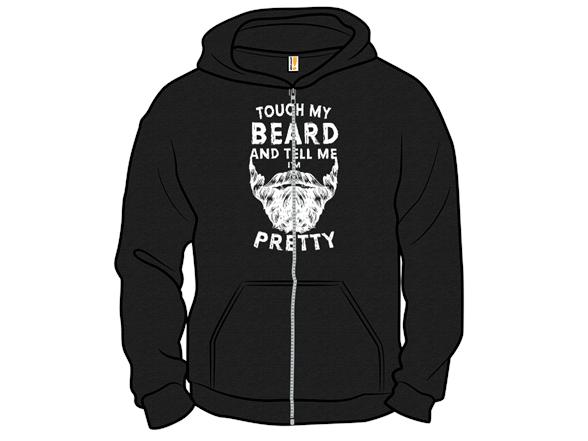 Touch My Beard T Shirt
