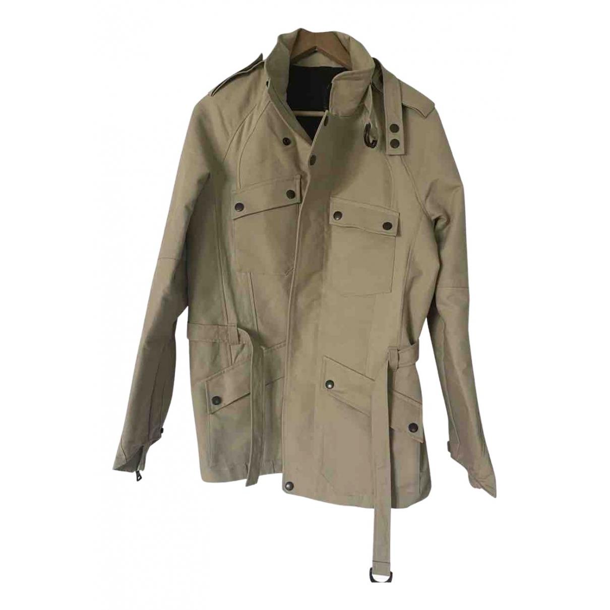 Balmain \N Beige Cotton jacket  for Men 50 IT
