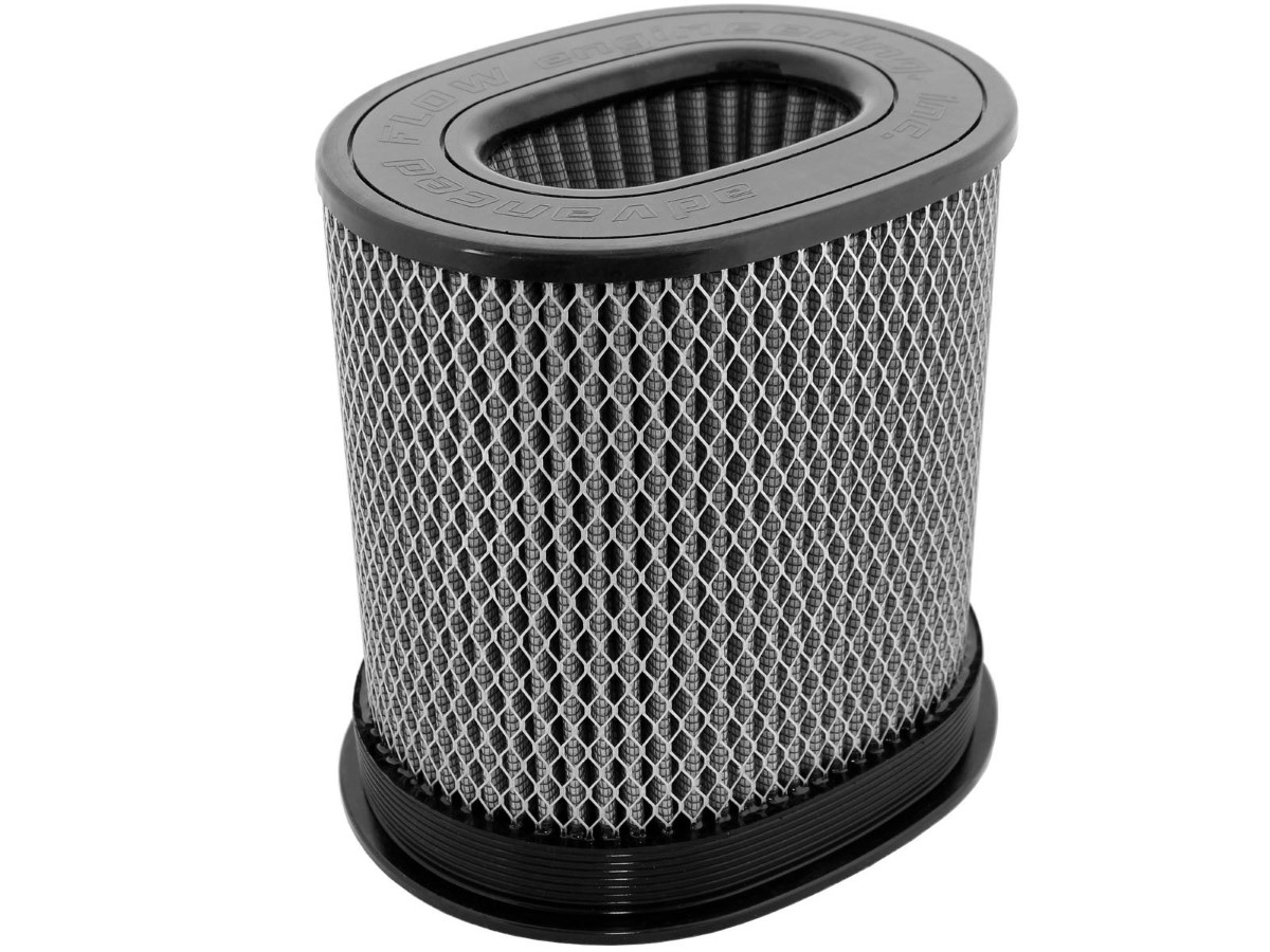 aFe Magnum FLOW Intake Replacement Air Filter w/ Pro DRY S Media (7 x 4-3/4) IN F x (9 x 7) IN B x (9 x 7) IN T (Inverted) x 9 IN H