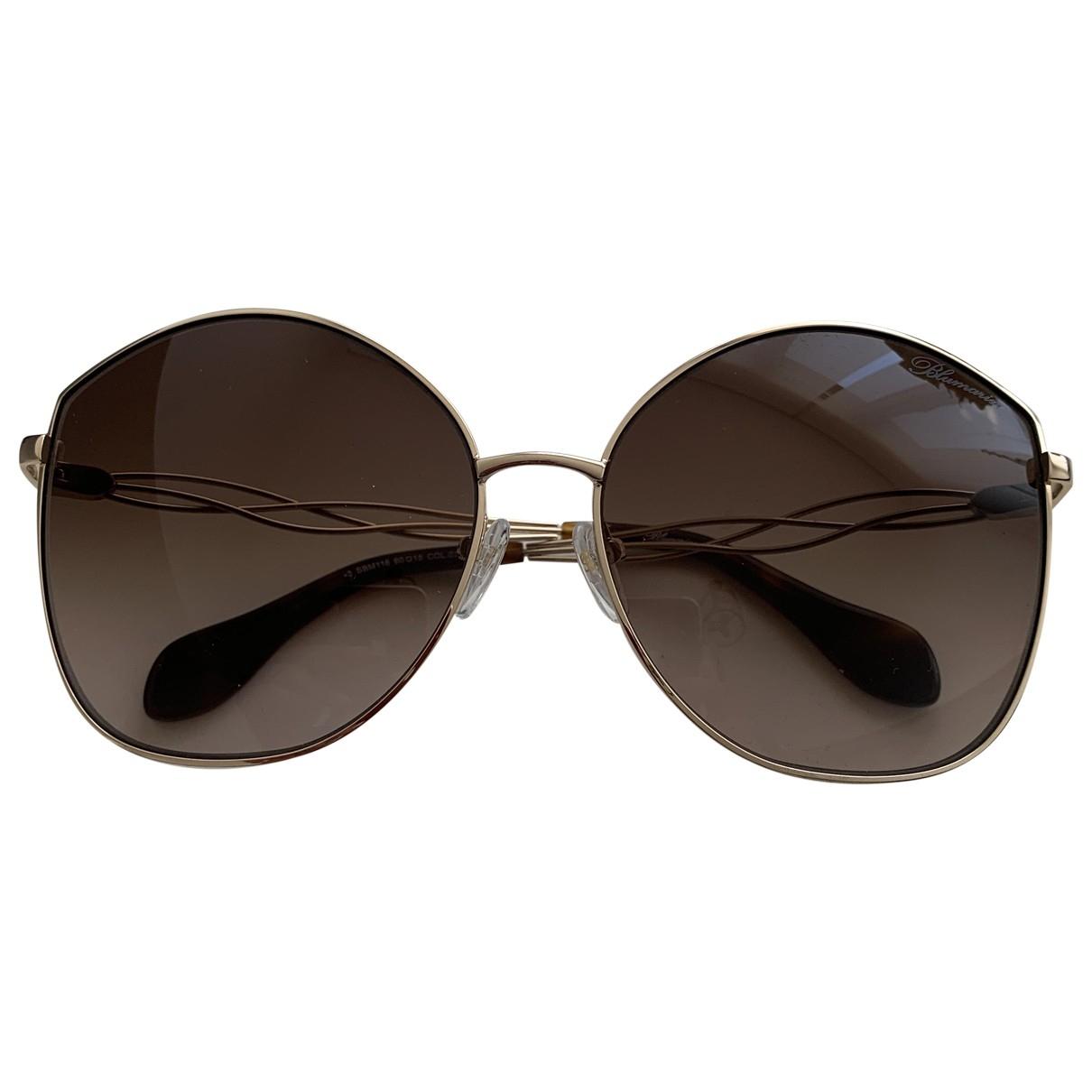 Blumarine \N Sonnenbrillen in Metall