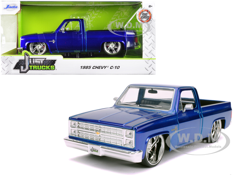 1985 Chevrolet Silverado C-10 Pickup Truck Candy Blue