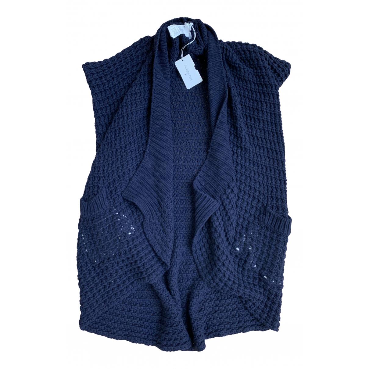 Patrizia Pepe - Pull   pour femme en laine - bleu