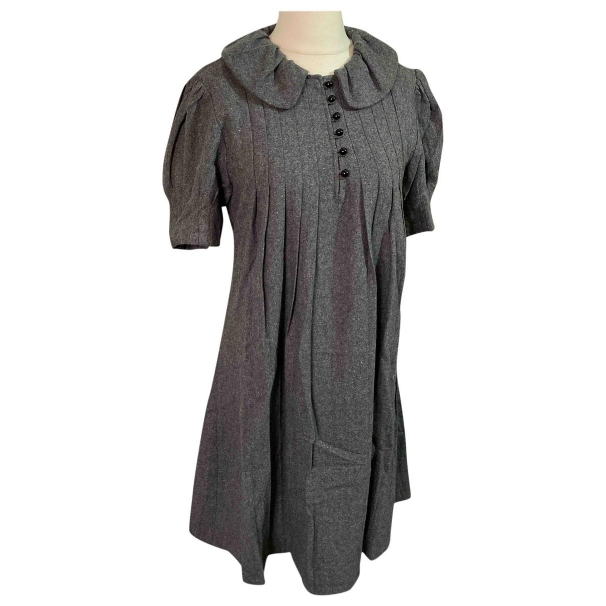 Marc Jacobs \N Kleid in  Grau Wolle