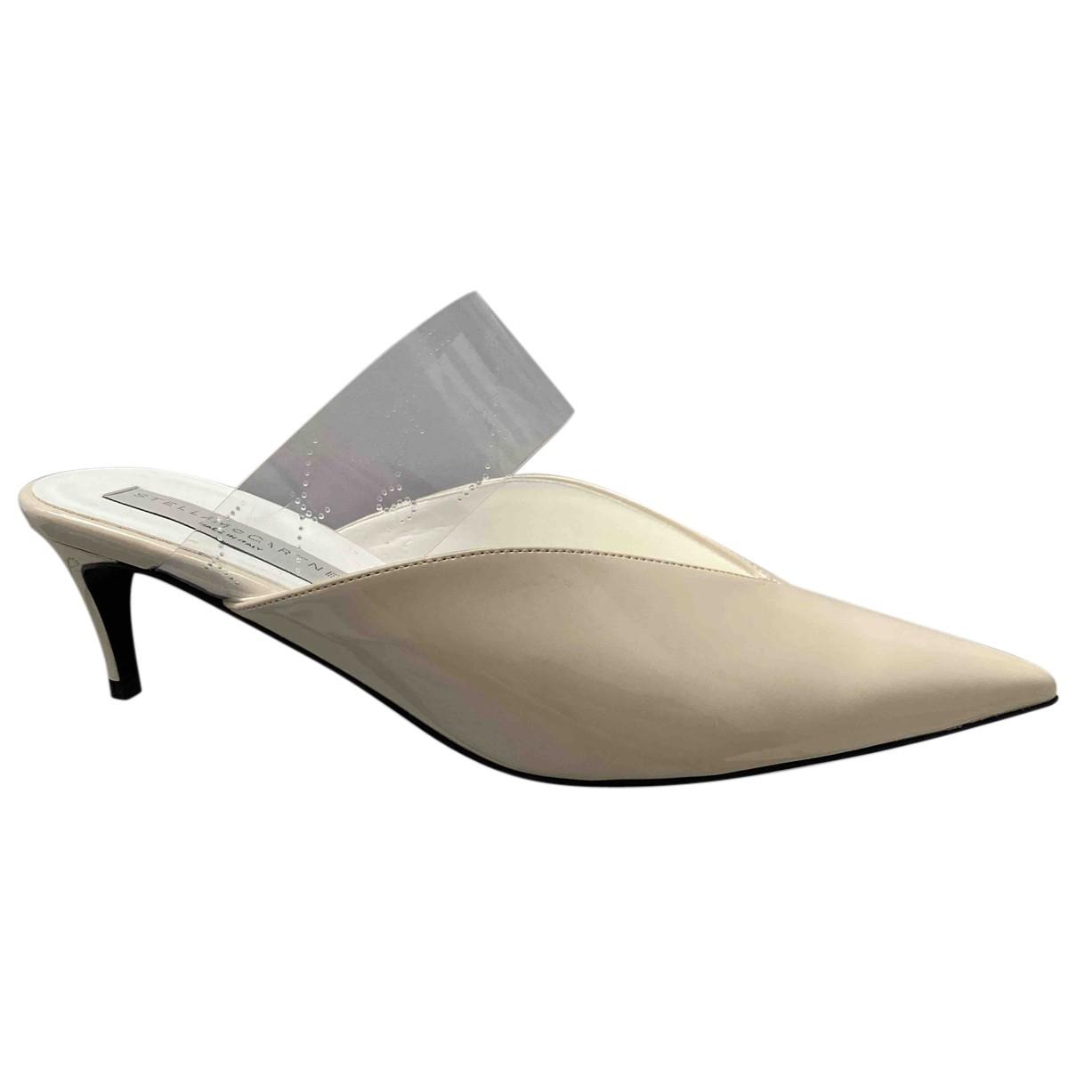 Stella Mccartney - Sandales   pour femme en toile - beige