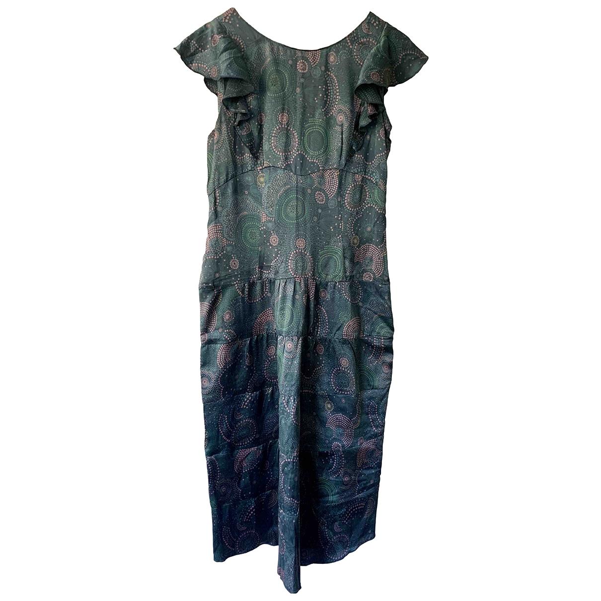 Marc Jacobs \N Kleid in  Blau Seide