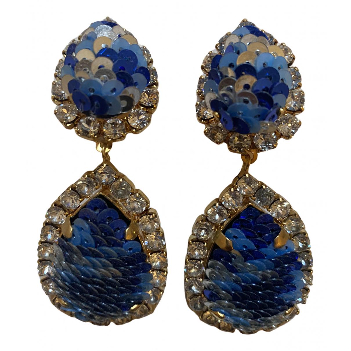 Shourouk N Blue Earrings for Women N