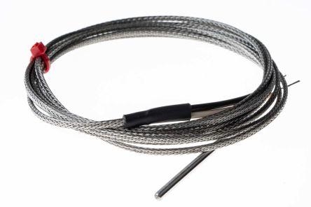 RS PRO Type J Thermocouple 40mm Length, 3.18mm Diameter → +350°C