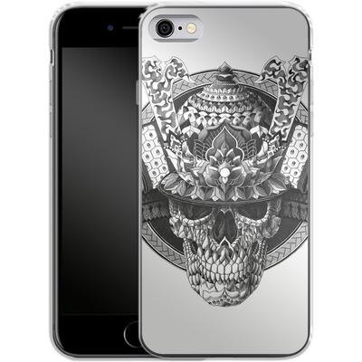 Apple iPhone 6s Silikon Handyhuelle - Samurai Skull von BIOWORKZ