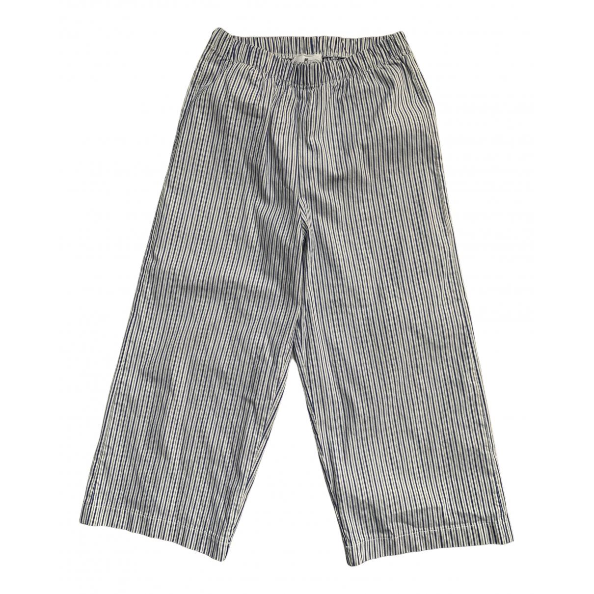 Le Petit Coco - Pantalon   pour enfant en coton - blanc