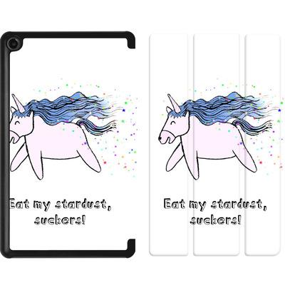 Amazon Fire 7 (2017) Tablet Smart Case - Eat my stardust von caseable Designs