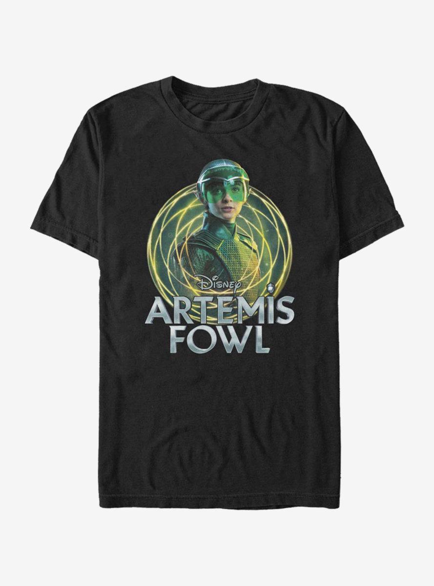 Disney Artemis Fowl Holly Badge T-Shirt