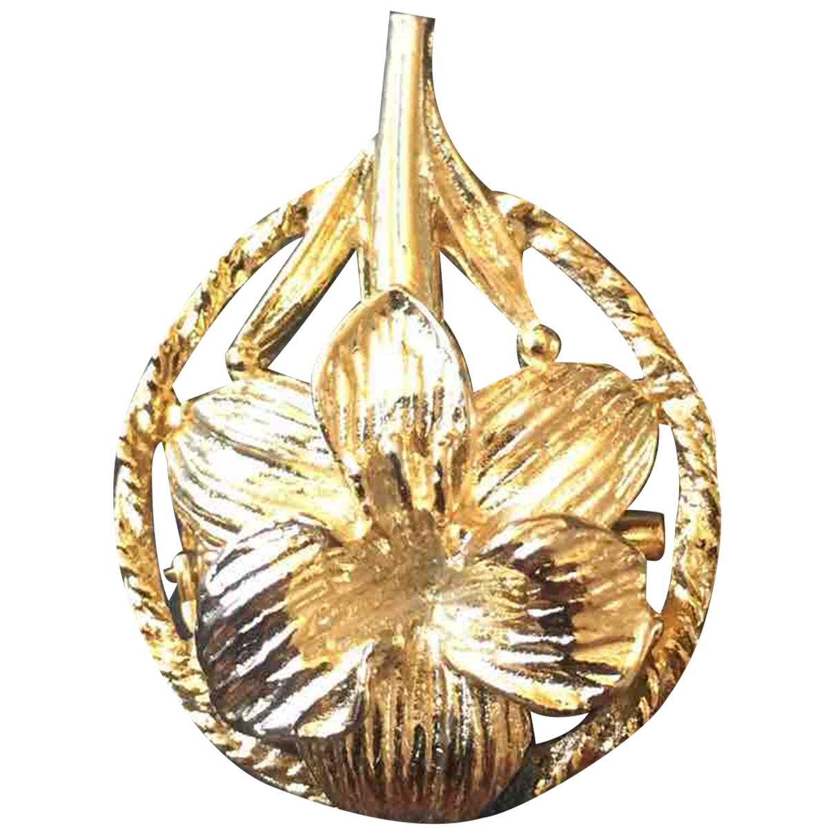 - Broche   pour femme en plaque or - dore