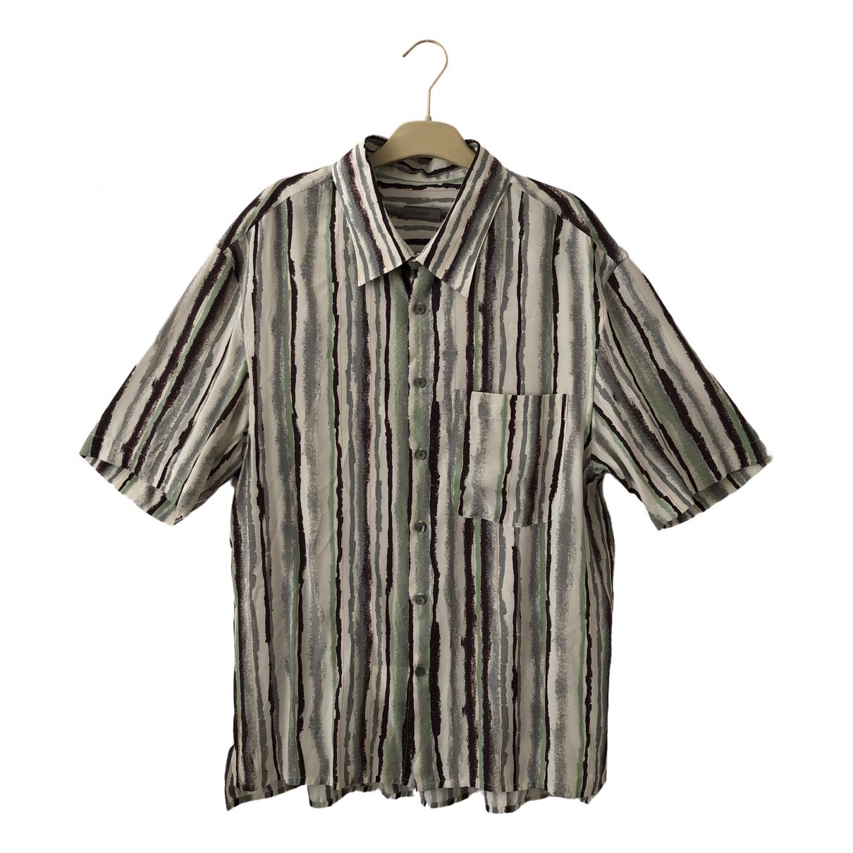 Lanvin \N White Shirts for Men 38 EU (tour de cou / collar)
