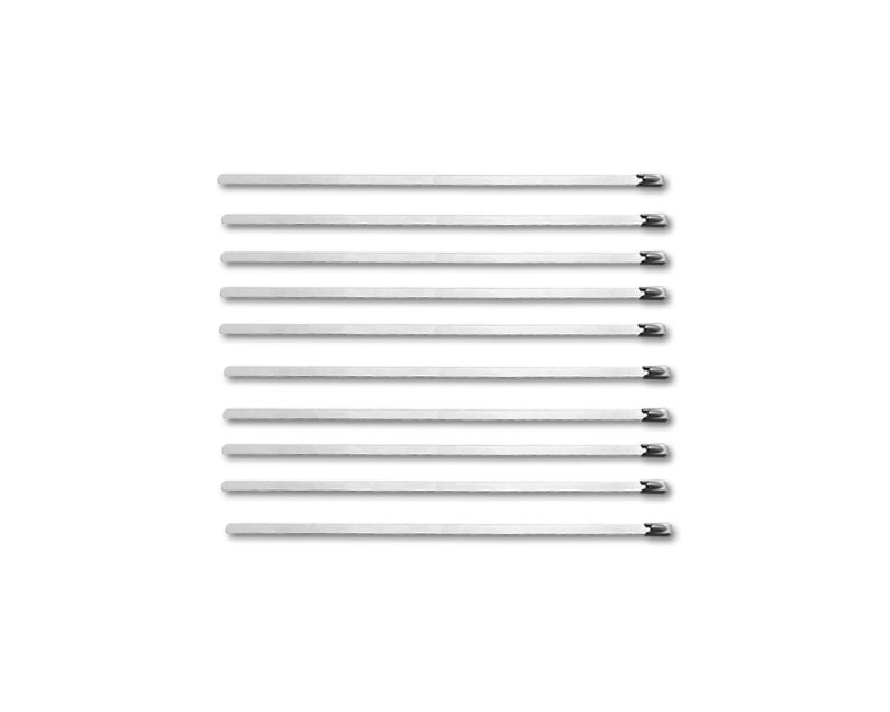 Vibrant Performance 25895 10 pack 7.5 long Stainless Steel Cable Ties