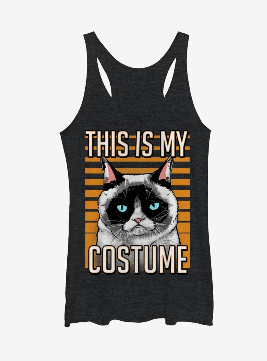 Grumpy Cat Costume Cat Womens Tank Top