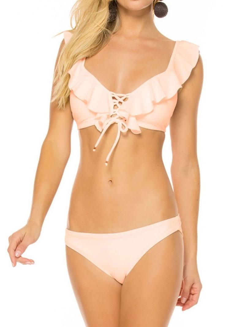 Ericdress Floral Sexy Skimpy Swimwear