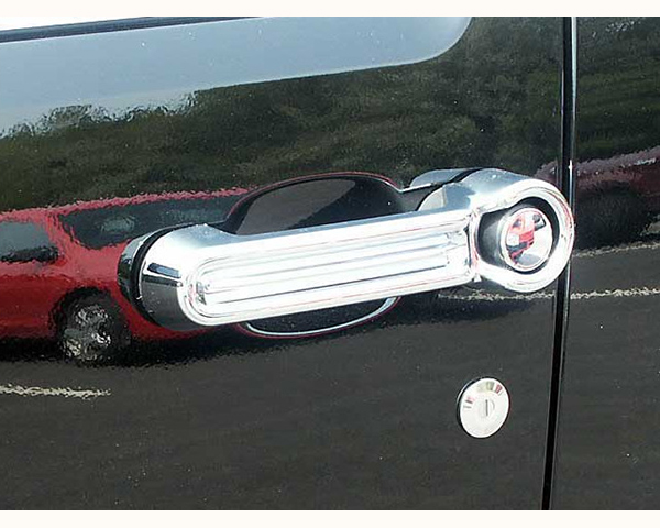 Quality Automotive Accessories ABS | Chrome Door Handle Cover Kit Dodge Nitro 2009