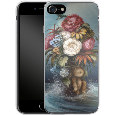 Apple iPhone 7 Silikon Handyhuelle - Hopeless Romantic von Dan May
