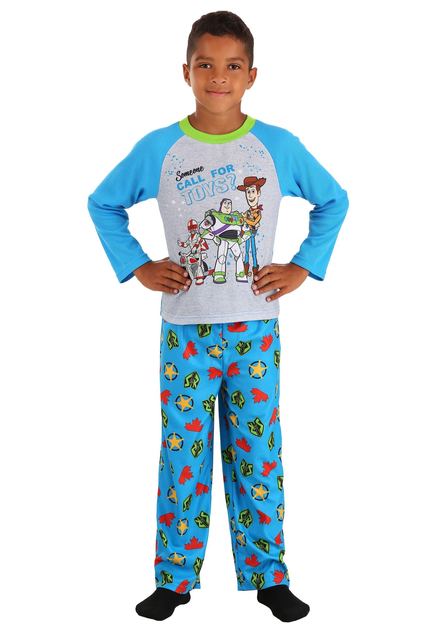Toy Story Long Sleeve Sleep Set for Boys