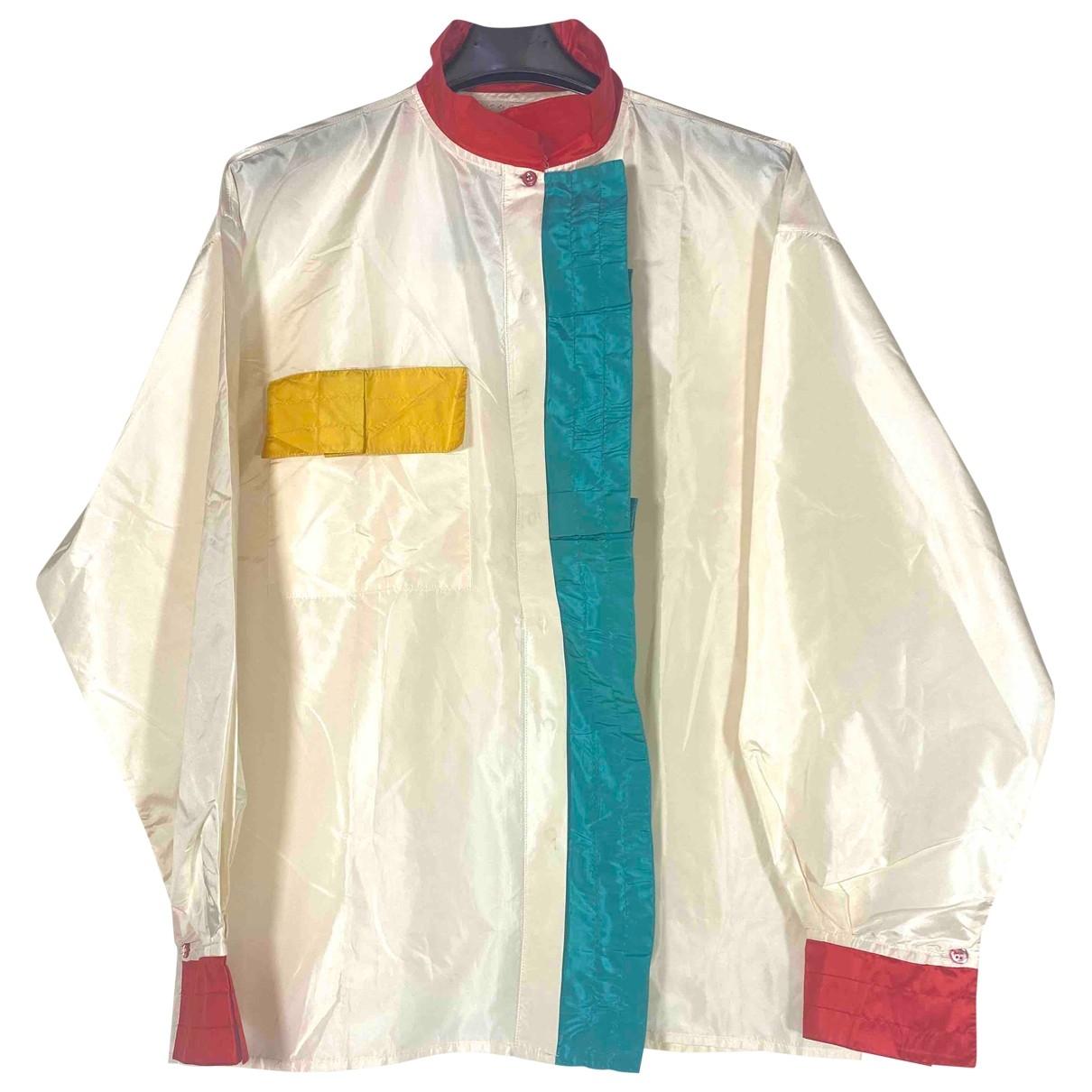 Iceberg - Top   pour femme en soie - multicolore