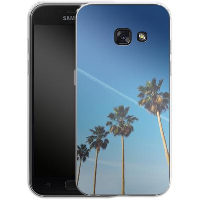 Samsung Galaxy A3 (2017) Silikon Handyhuelle - Palm Tree Paradise von Omid Scheybani