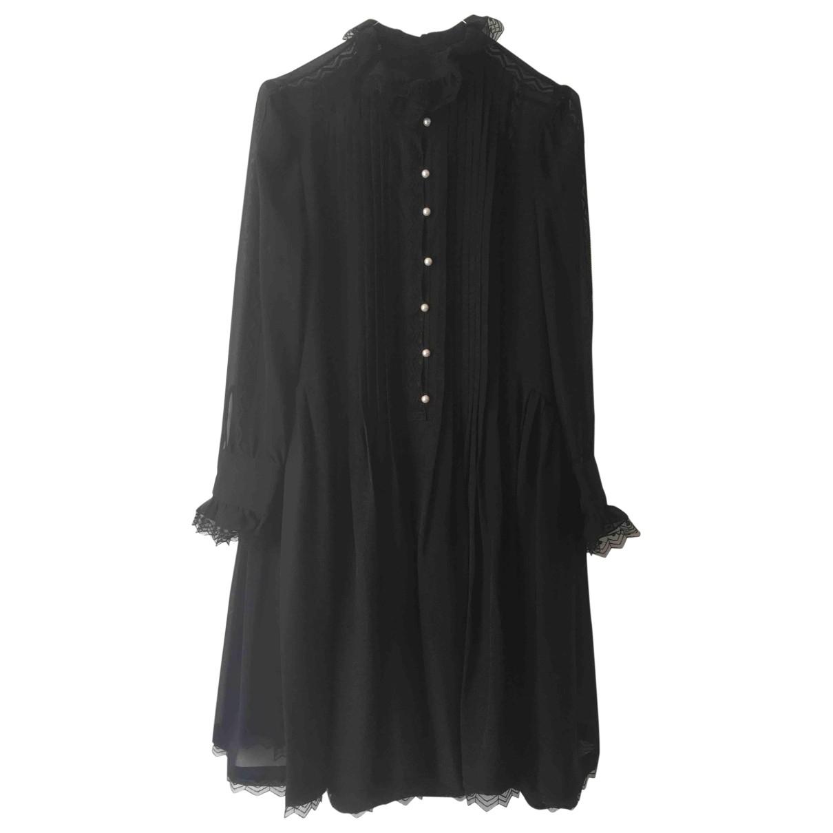 Philosophy Di Lorenzo Serafini \N Black Silk dress for Women 34 FR
