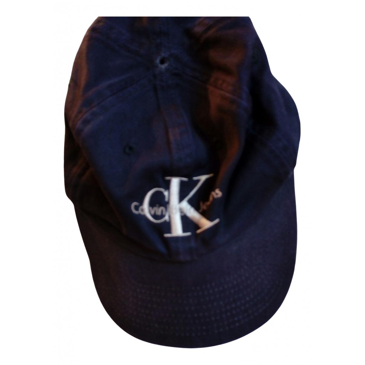 Calvin Klein \N Blue Cotton hat & pull on hat for Men M International
