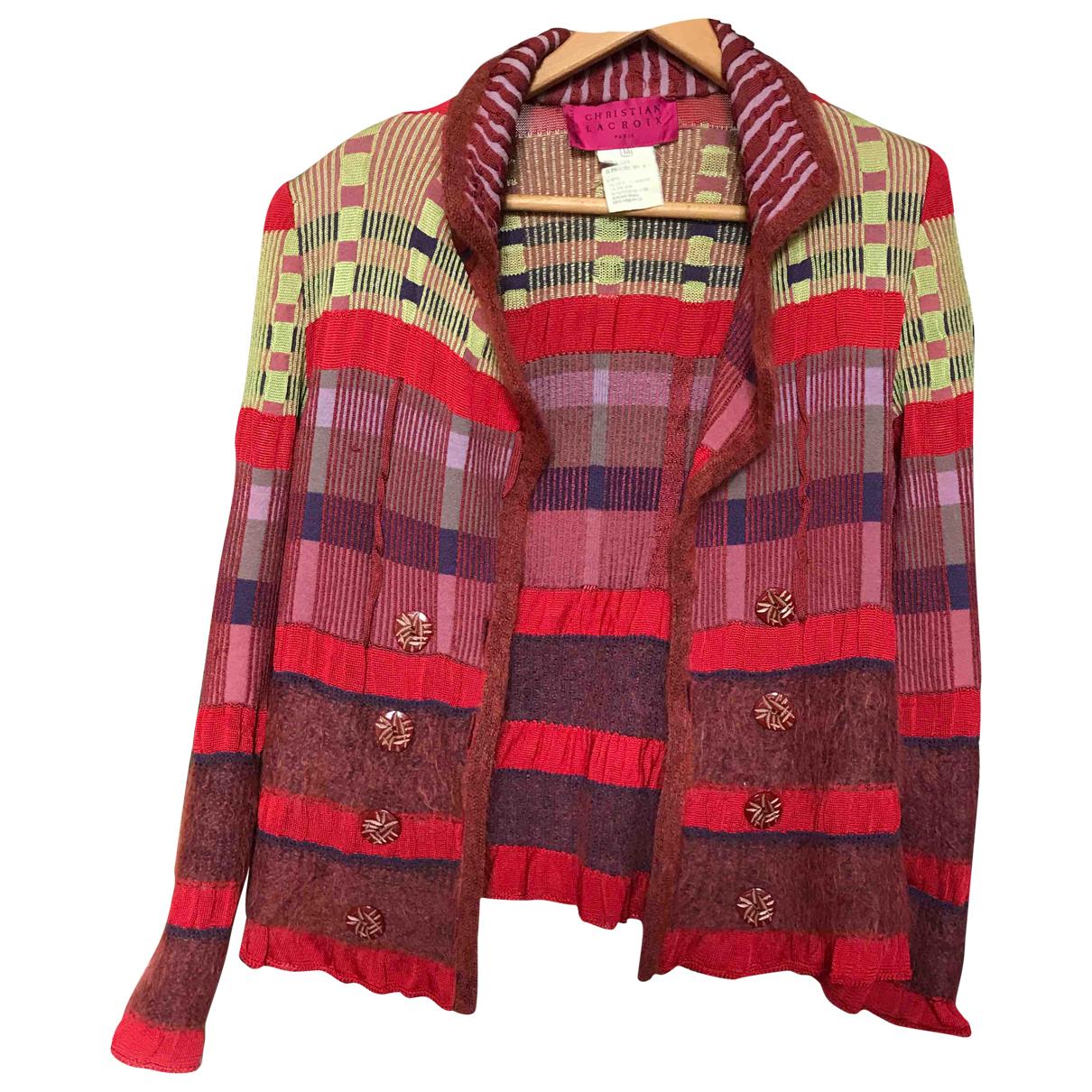 Christian Lacroix N Red Wool jacket for Women M International
