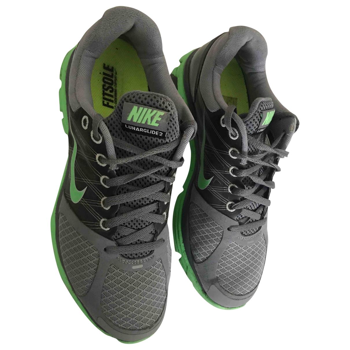 Nike \N Grey Cloth Trainers for Men 41 EU
