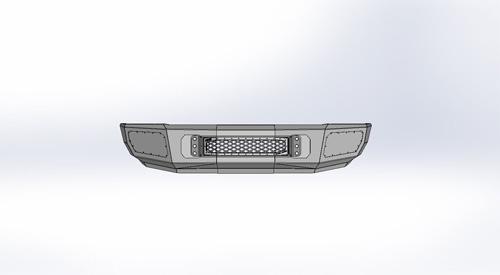Flog Industries FISD-D2535-9498F 94-98 RAM 2500-3500 Front Bumper