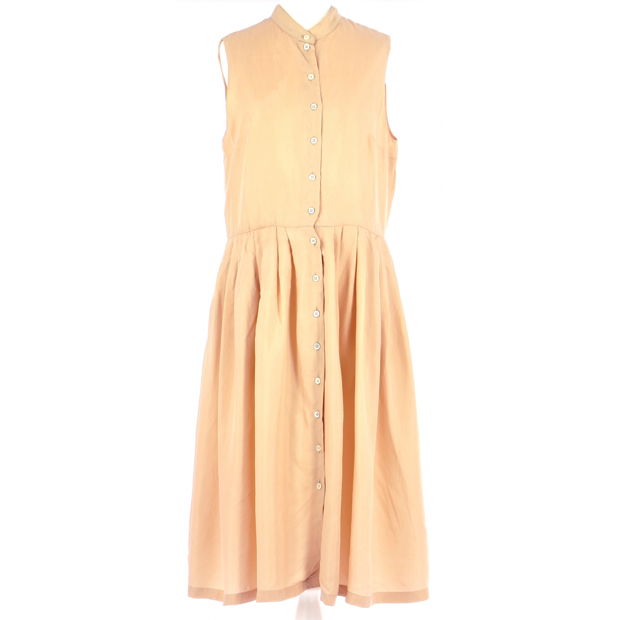 Cacharel \N Kleid in  Beige Synthetik