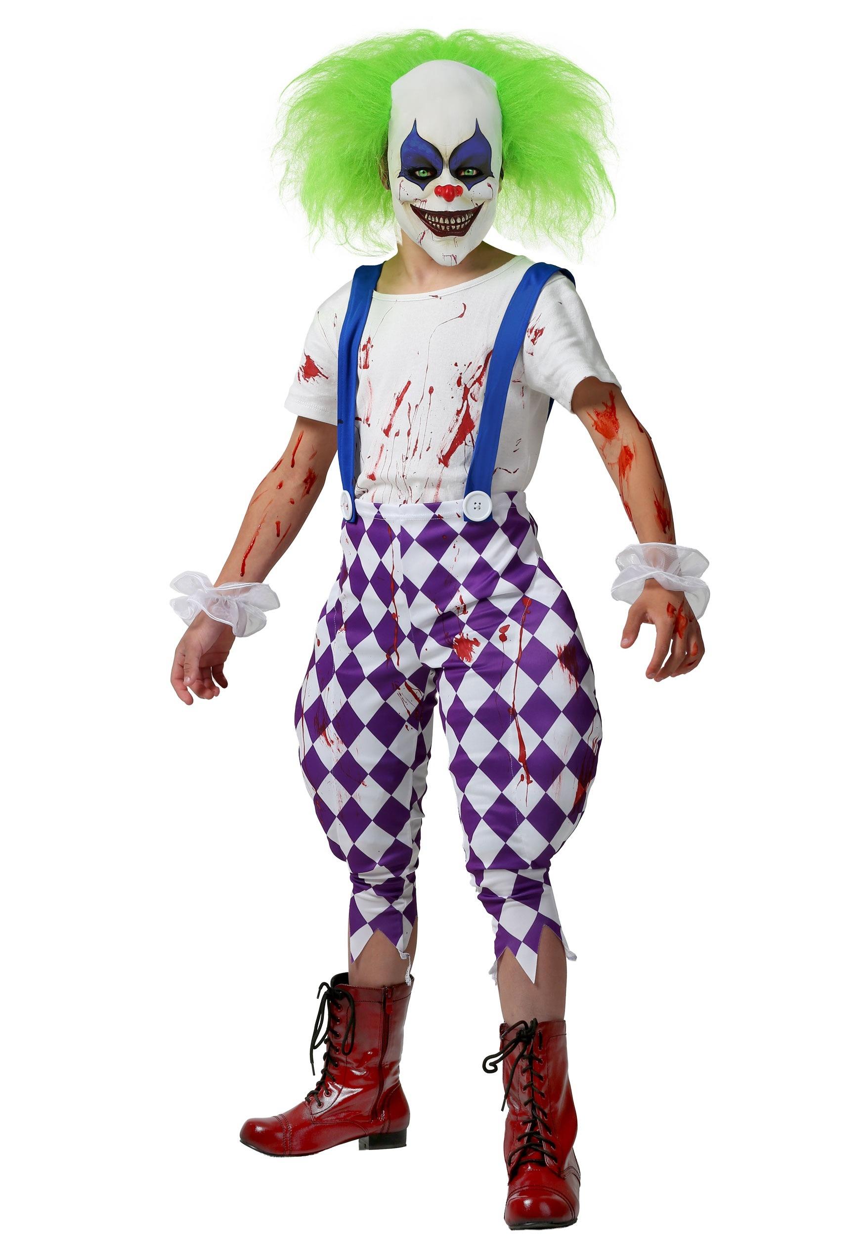 Nightmare Clown Costume
