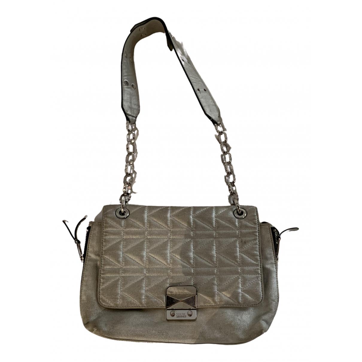 Karl Lagerfeld N Silver handbag for Women N