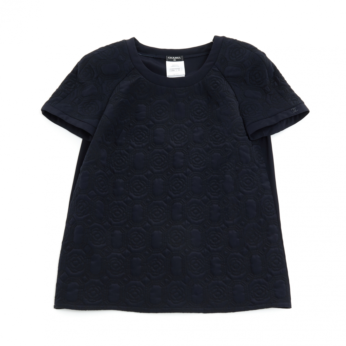 Chanel \N Navy Silk  top for Women 40 FR